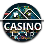 Casinoland rond logo