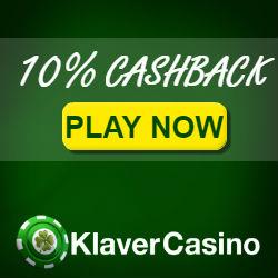 KlaverCasino Cashback Bonus