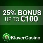 Klaver Casino Deposit Bonus