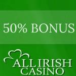 AllIrishCasino dep bonus