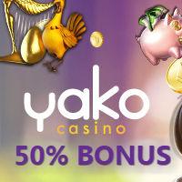 Yako Casino deposit bonus