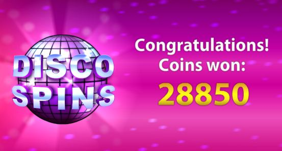 big win disco spins