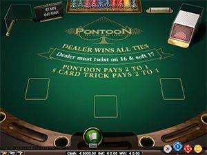 Blackjack Pontoon Screenshot