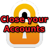 close casino accounts