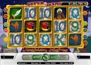 Arabian Nights Jackpot Slot