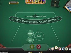 Casino Hold'em Poker Screenshot