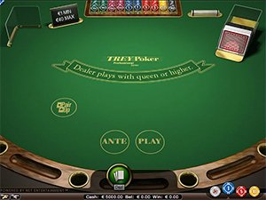 Trey Poker Screenshot