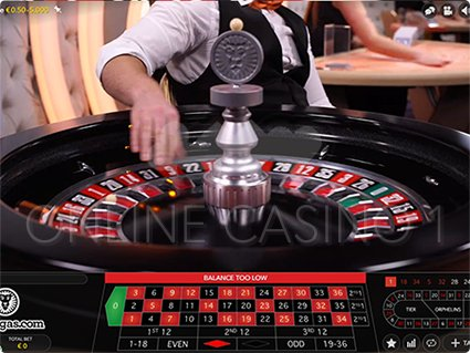 Roulette First Person live