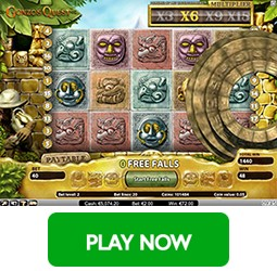 Play Gonzos Quest at Eskimo Casino